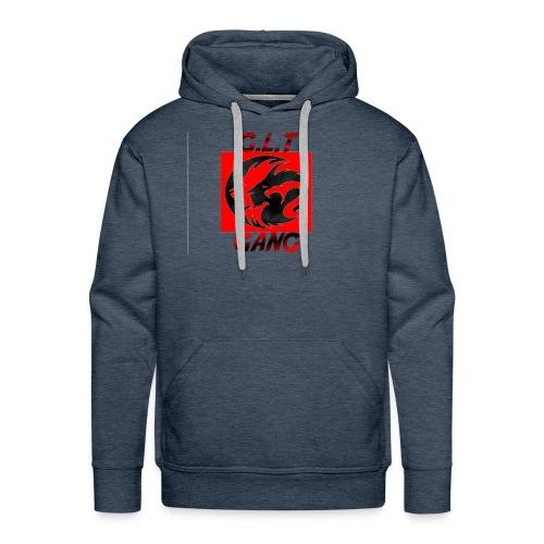 G.L.T Gang Logo on hat - Men's Premium Hoodie