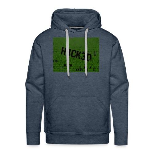 H4CK3D - Männer Premium Hoodie