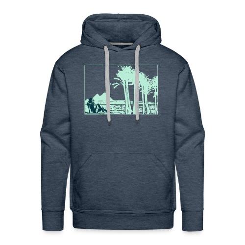 Girl nil - Sweat-shirt à capuche Premium pour hommes