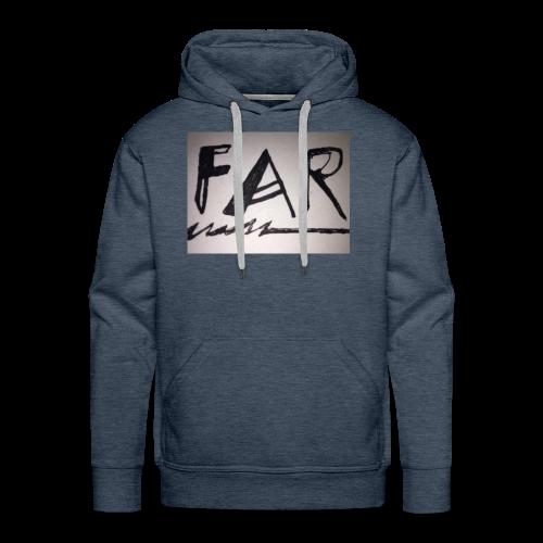 D - Sweat-shirt à capuche Premium pour hommes