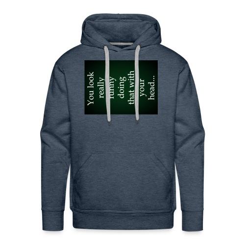 funny - Mannen Premium hoodie