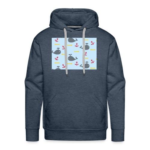 Whale Case - Sudadera con capucha premium para hombre
