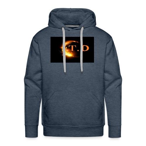 td - Sweat-shirt à capuche Premium pour hommes