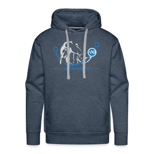 Camiseta de deporte MundoEntrenamiento.com - Sudadera con capucha premium para hombre
