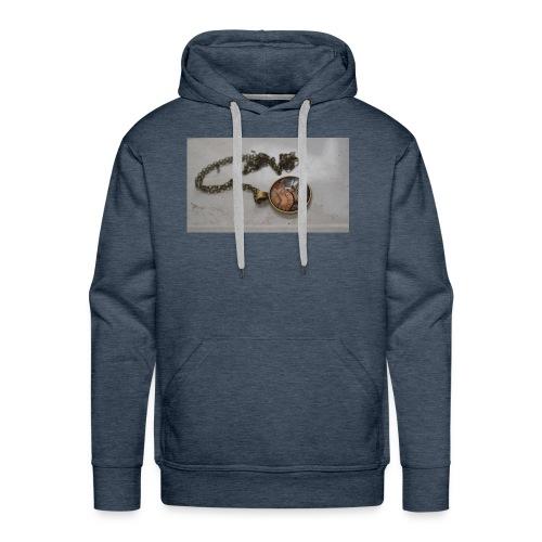 steampunk_collar - Sudadera con capucha premium para hombre