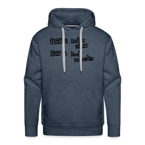 citation - Sweat-shirt à capuche Premium pour hommes