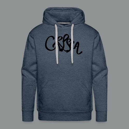 Kinder/ Tiener Shirt Unisex (rug) - Mannen Premium hoodie