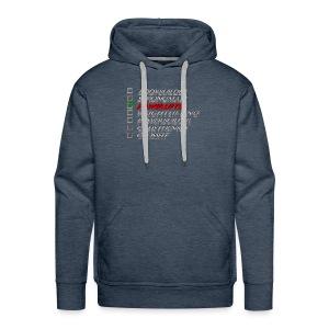 Powerlifter - Mannen Premium hoodie