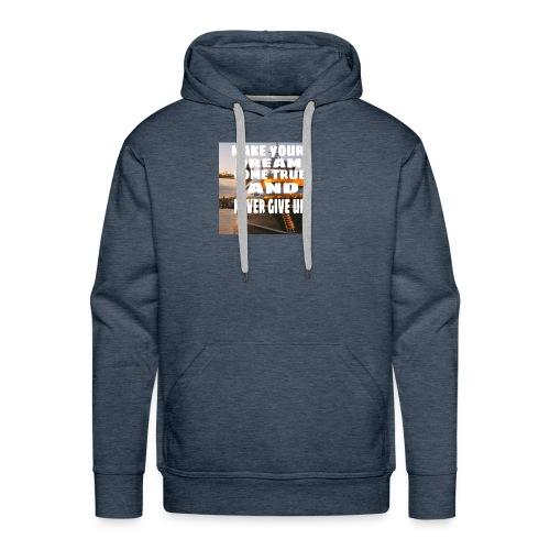 motivate t-shirt - Mannen Premium hoodie