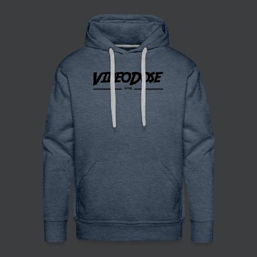 t-shirt_design_VideoDose - Mannen Premium hoodie