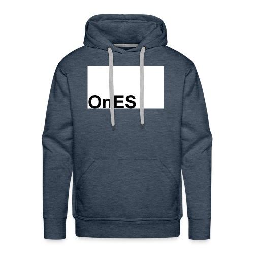 OnES Markenlogo 2 - Männer Premium Hoodie