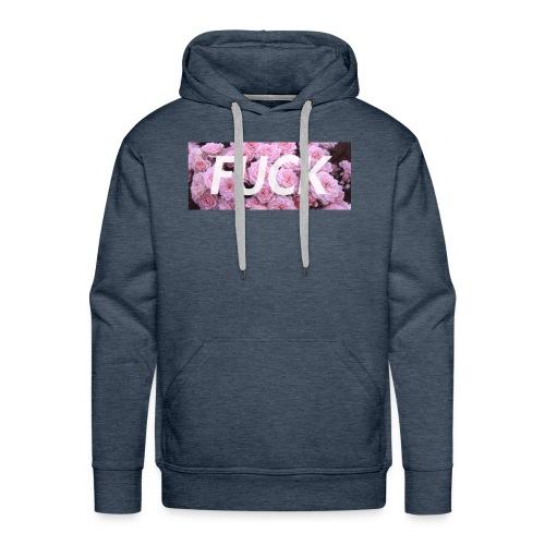 Fvck Floral design - Sudadera con capucha premium para hombre
