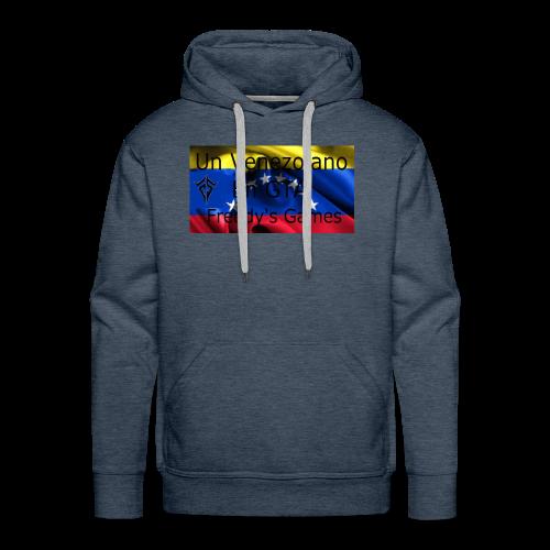 Alfombra De Mouse Un Venezolano En GTA - Sudadera con capucha premium para hombre