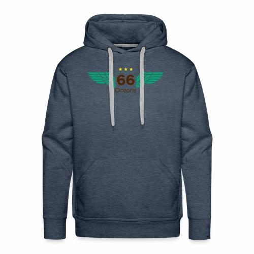 66 Oceans Wings - Sweat-shirt à capuche Premium pour hommes
