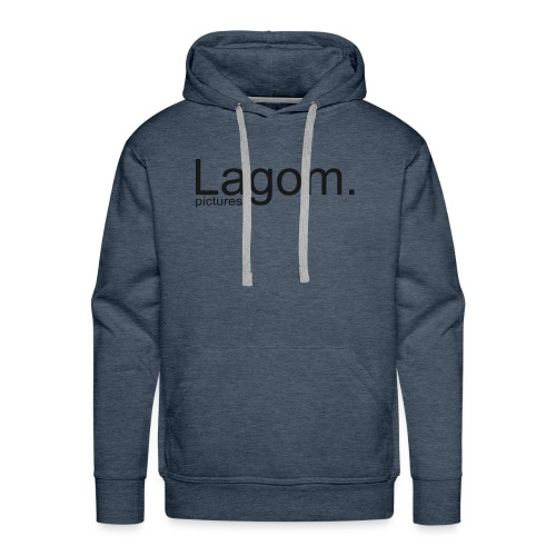 Lagom Pictures Logo Dark - Men's Premium Hoodie