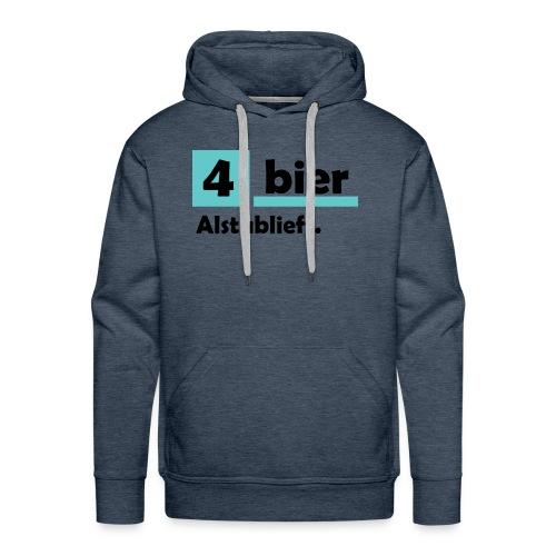 Vier-Bier-Aub - Mannen Premium hoodie