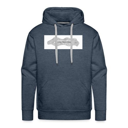 nosencenofeeling - Men's Premium Hoodie