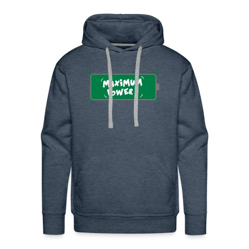 POWER MAX - Sweat-shirt à capuche Premium pour hommes