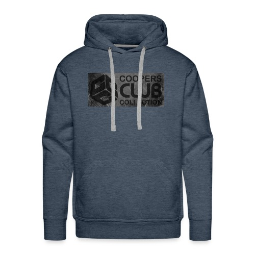 Coopers Club Collection distressed logo - Men's Premium Hoodie