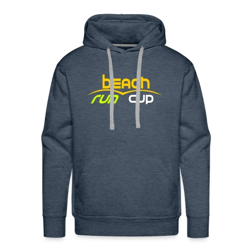 Beach_Run_Cup_d--tour-- - Sweat-shirt à capuche Premium pour hommes