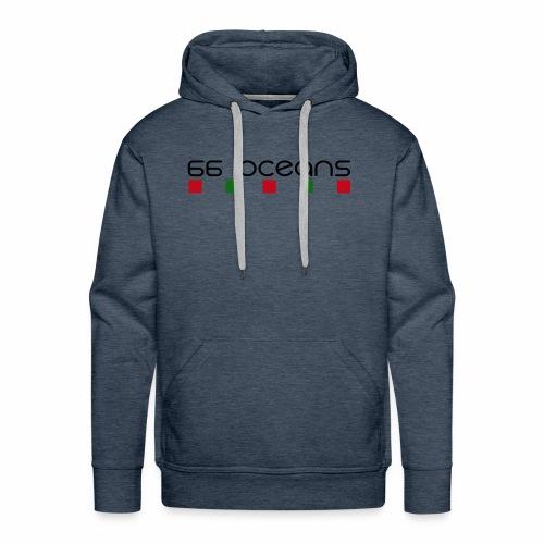 66 Oceans Square - Sweat-shirt à capuche Premium pour hommes