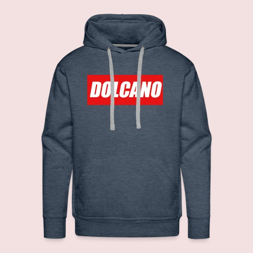 DOLCANO Box Logo Short Sleeved T-Shirt. - Men's Premium Hoodie
