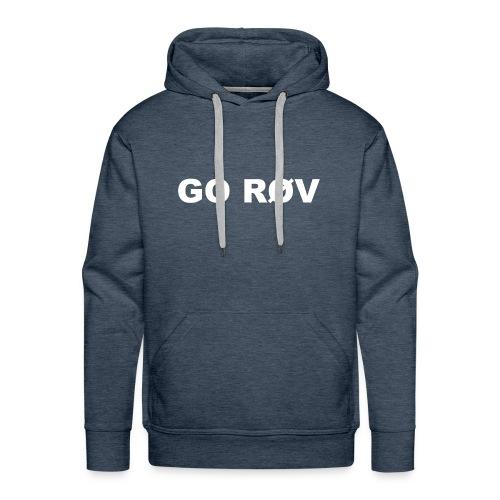 GO RØV - Herre Premium hættetrøje