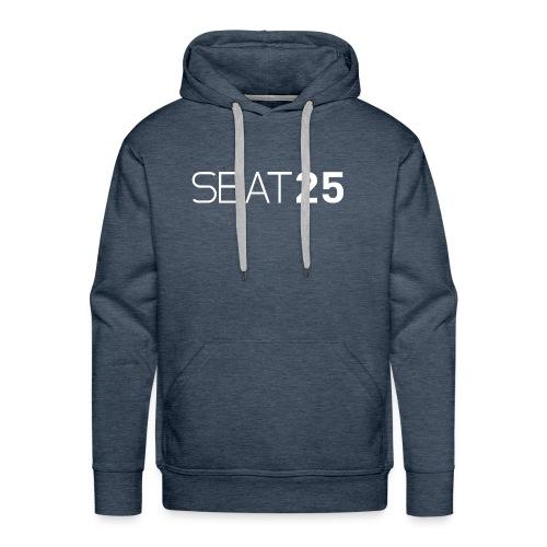 Seat25 Logo Light - Men's Premium Hoodie