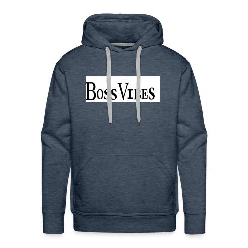 BossVibes version 2 - Herre Premium hættetrøje