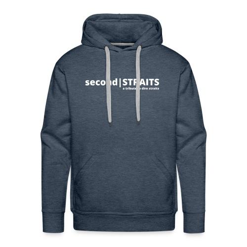 secondSTRAITS_01_white - Männer Premium Hoodie