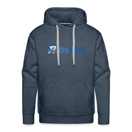 Logo JosKids 3 - Felpa con cappuccio premium da uomo