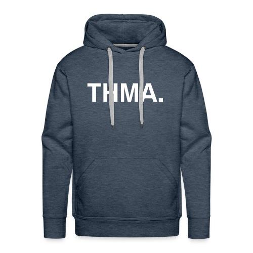 thma spreadshirt - Mannen Premium hoodie