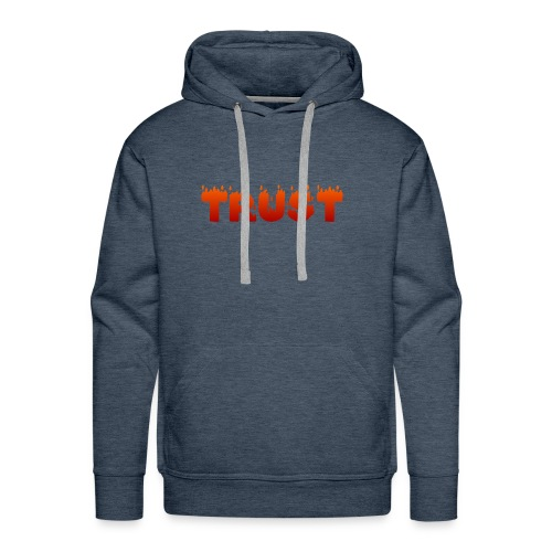 Fire - Sweat-shirt à capuche Premium pour hommes