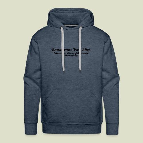 Van Rhee Kaas-suf-fle - Mannen Premium hoodie