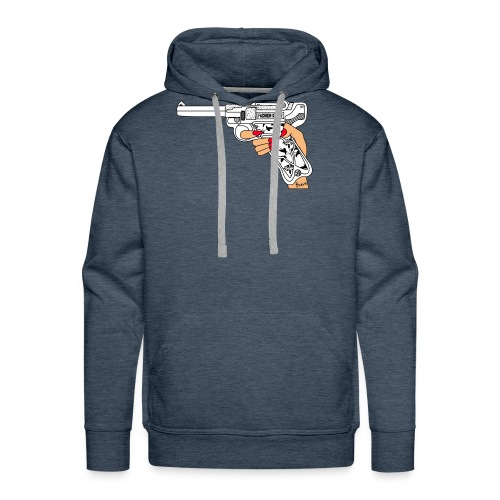 FashionK - Sudadera con capucha premium para hombre