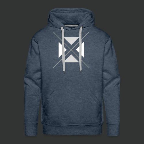 triangles-png - Men's Premium Hoodie