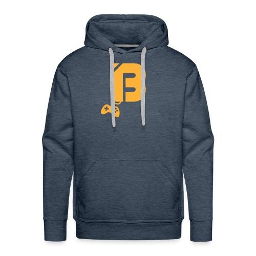 BOOYAH T-Shirt Oranje Logo - Mannen Premium hoodie