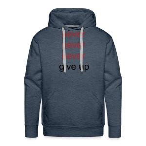 never - Mannen Premium hoodie