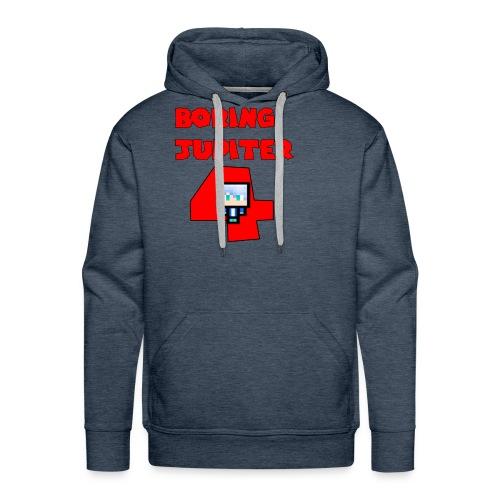 Maglietta premium text BoringJupiter4 - Felpa con cappuccio premium da uomo