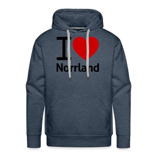 Jag Älskar Norrland (I Love Norrland) - Premiumluvtröja herr