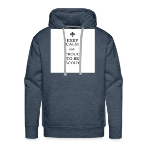 Keep calm and proud to be a scout - Mannen Premium hoodie