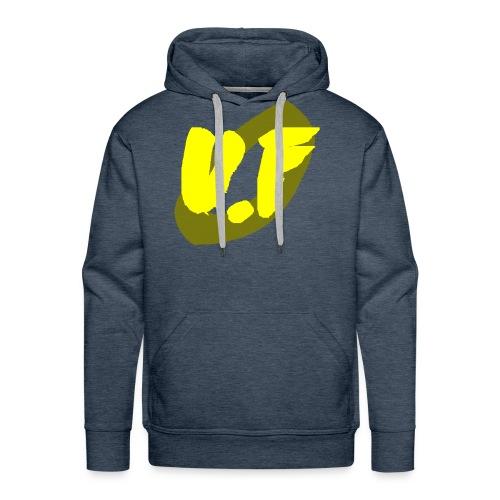 camiseta pico logo UF amarillo - Sudadera con capucha premium para hombre