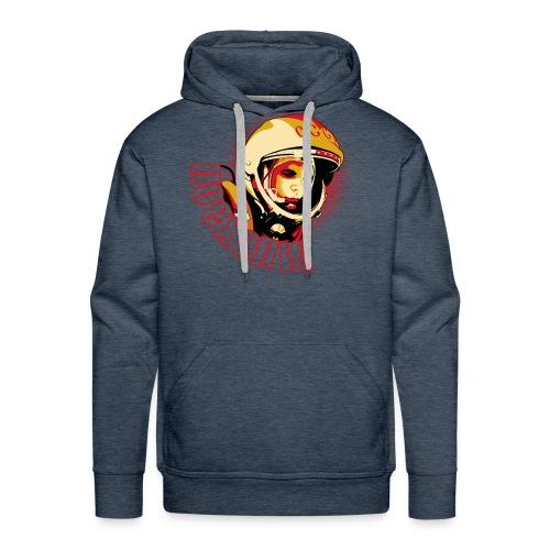 Yuri Gagarin - Sudadera con capucha premium para hombre