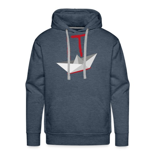 It Camiseta - Sudadera con capucha premium para hombre