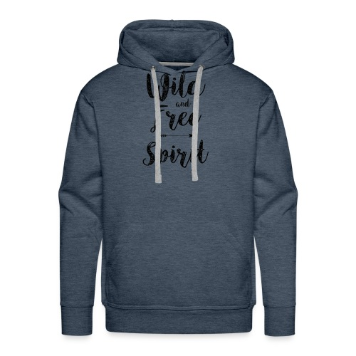 Wild-and-Free-Spirit - Men's Premium Hoodie
