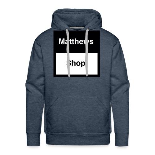 Matthews Shop T-shirt - Mannen Premium hoodie