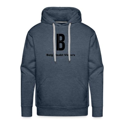 Belg Maakt Videos trui - Mannen Premium hoodie