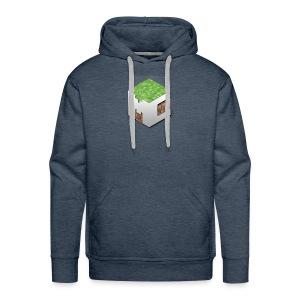 MineCraft 3D - Mannen Premium hoodie