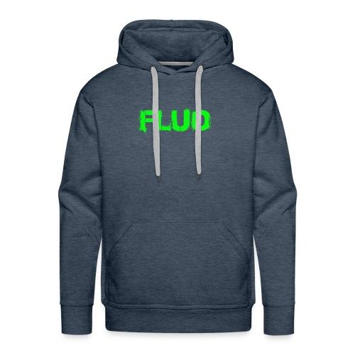 FLUO_trasparente - Felpa con cappuccio premium da uomo