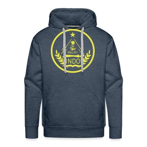 Indo_Melati_GEEL - Mannen Premium hoodie